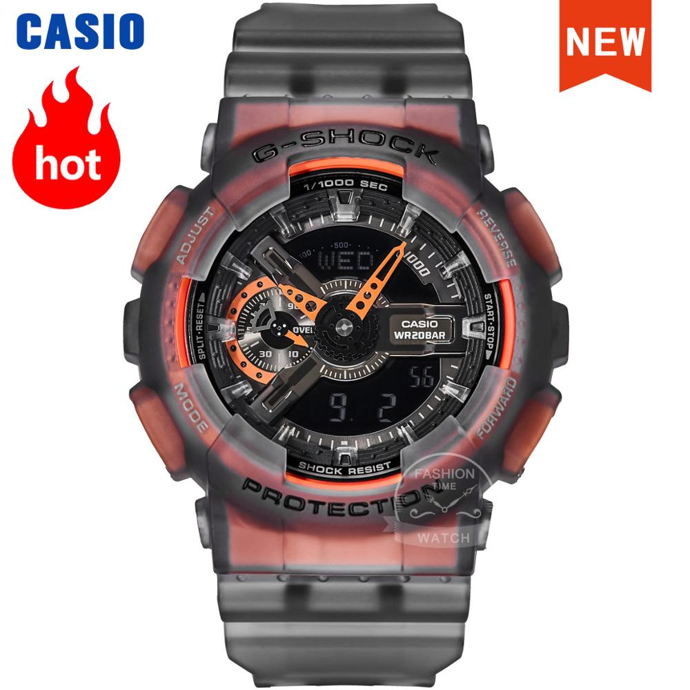 Casio Watch men G-SHOCK top luxury set Waterproof Clock Sport quartz LED relogio digital Watch g shock Military watch GA-110LS