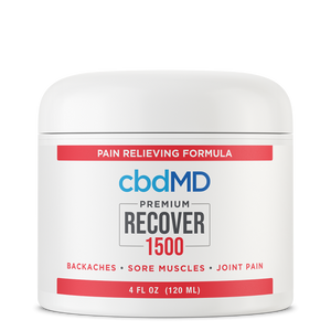 CBD Recover Tub - 1500mg - 4oz - The CBD Retailer