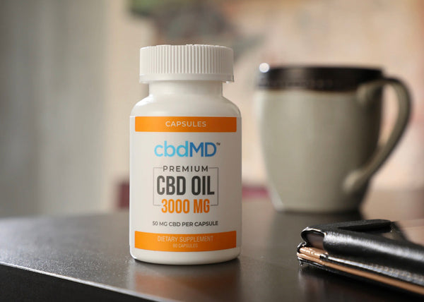 Premium CBD Oil Capsules - 3000mg - 60 Pieces - The CBD Retailer