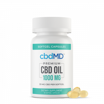 CBD Oil Softgel Capsules - 1000mg - 30 Pieces - The CBD Retailer