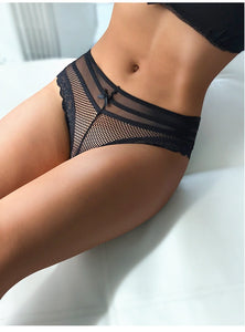 Black Sexy Lace Panty - Ideal to seduce