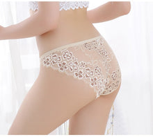 Load image into Gallery viewer, Sexy Panties Lace Low-waist Briefs