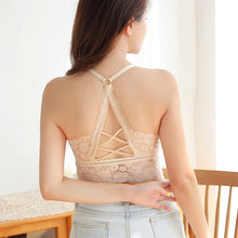 Load image into Gallery viewer, White Sexy Lighty Lace Bra Top