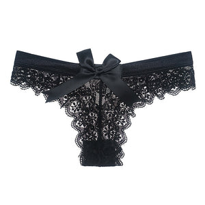 Stunning Lace Panty for a Special Moment - White