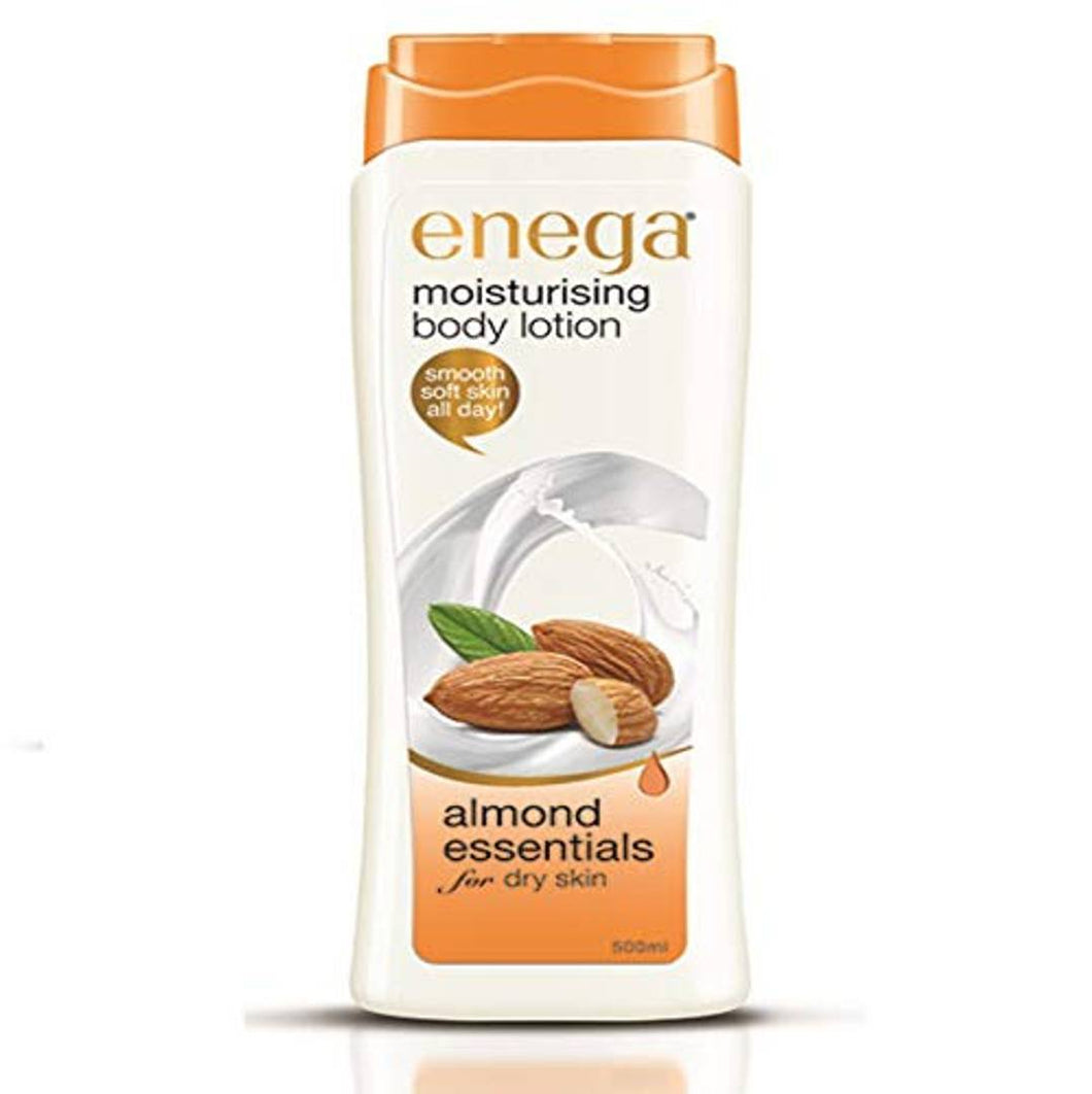 Moisturizing Body Lotion For Dry Skin Almond Essentials - 500 Ml