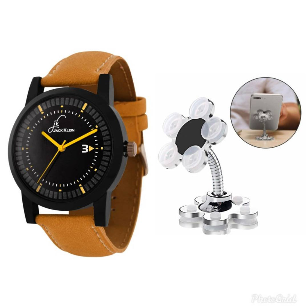 Combo Of Watch And Mobile Stand