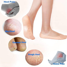 Load image into Gallery viewer, Anti Crack Full Length Silicon Foot Protector Moisturizing Socks