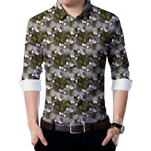 Load image into Gallery viewer, Grey Poly Blend Unstitched Shirt Piece