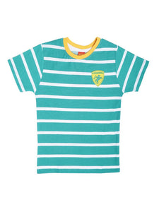 Kids Striped Multicoloured Cotton Tees (Pack Of 3)