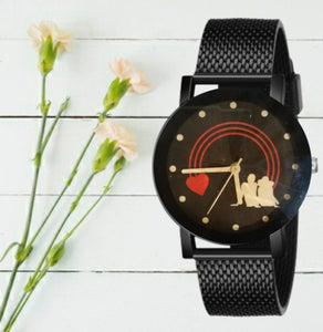 Mesh Strap Men Watch