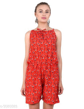 Load image into Gallery viewer, Adeline Elegant Crepe Printed Women's Jumpsuits