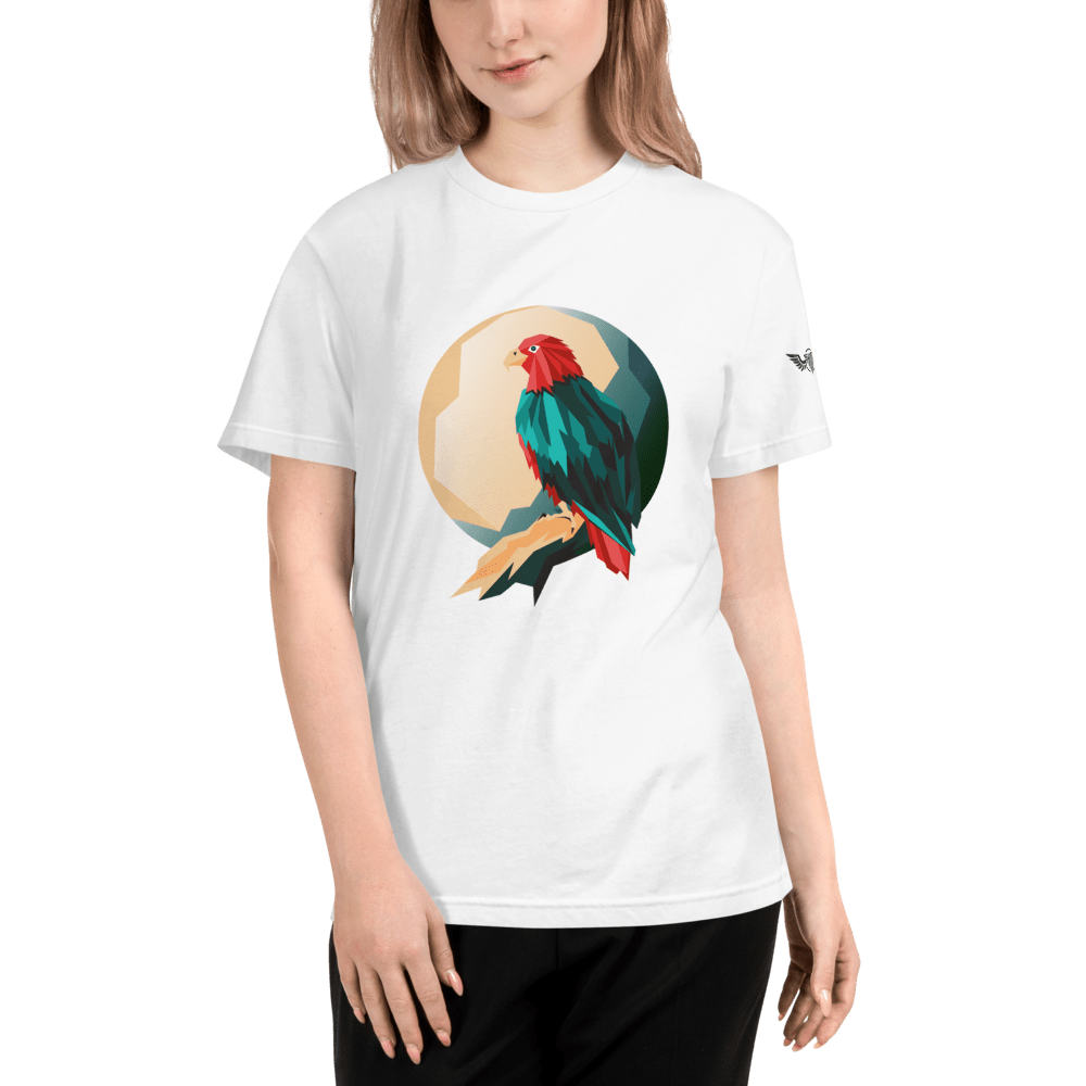 Eco-Friendly Bird Design T-Shirt - StopHassellingMe