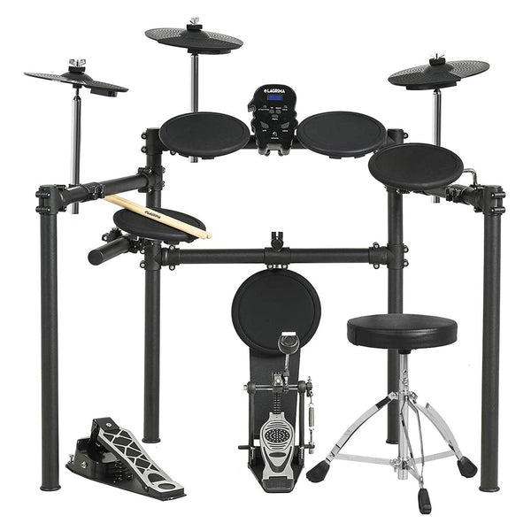 LAGRIMA LAG-700 Electric Drum Set Electronic Kit ,Drum Stick