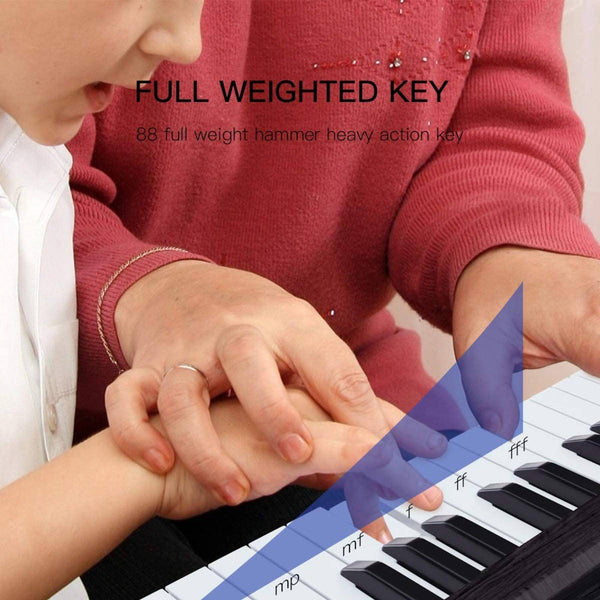 Lagrima 88 Full Weighted Hammer Heavy Action Key Digital Piano