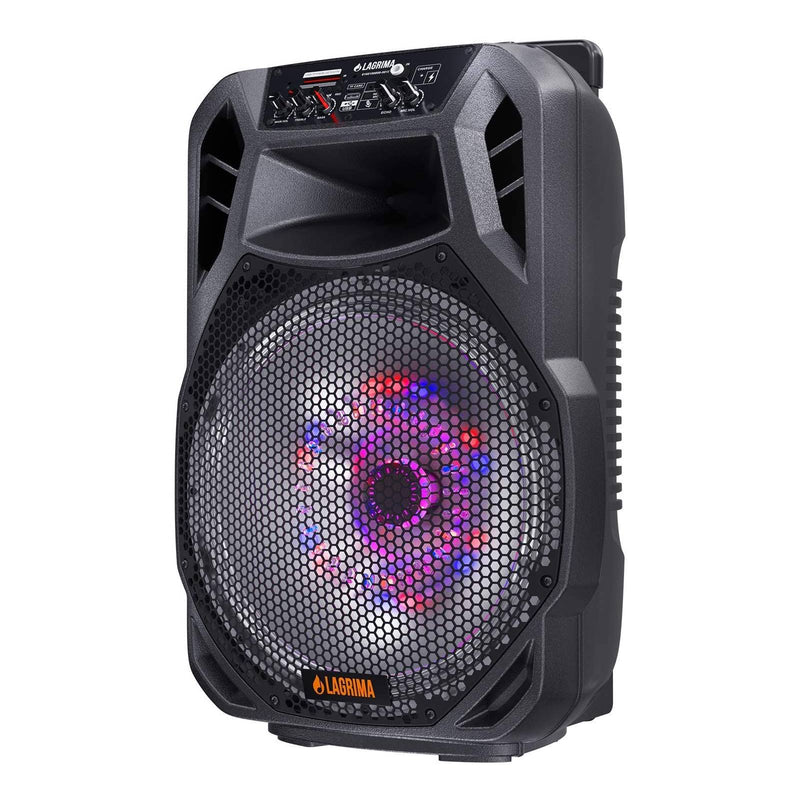 LAGRIMA LPS-800 Portable 15-Inch 2-Way 800W PA Speaker System
