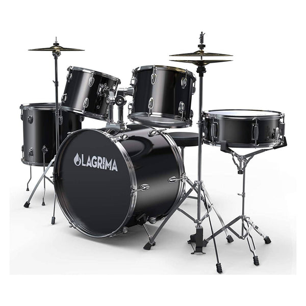LAGRIMA 5 Piece Full Size Drum Set