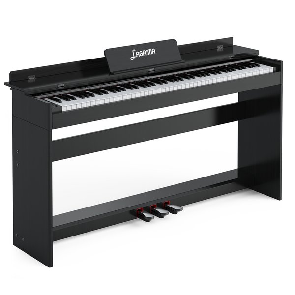 Lagrima 88 Key Digital Piano, Portable Electric Keyboard Piano for Beginner