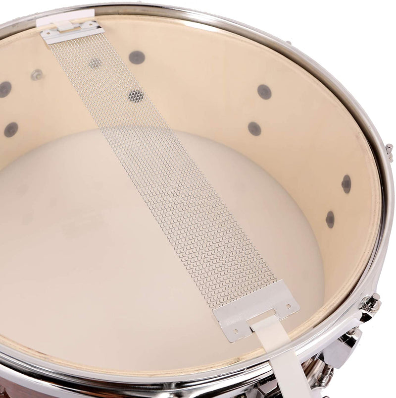 LAGRIMA Snare Drum Kit, 14inch x 5.5inch, Tuning Lugs & Snare Strainer