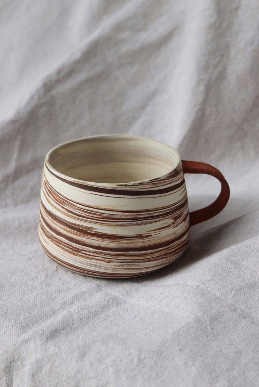 Multi Marbled Mug
