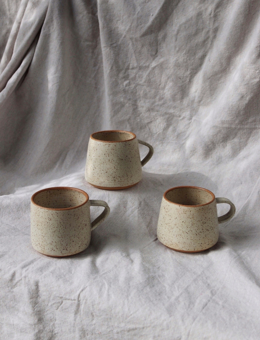 Speckled Cream Mug