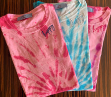 Load image into Gallery viewer, Women's EMBROIDERED Tie Dye T-Shirt