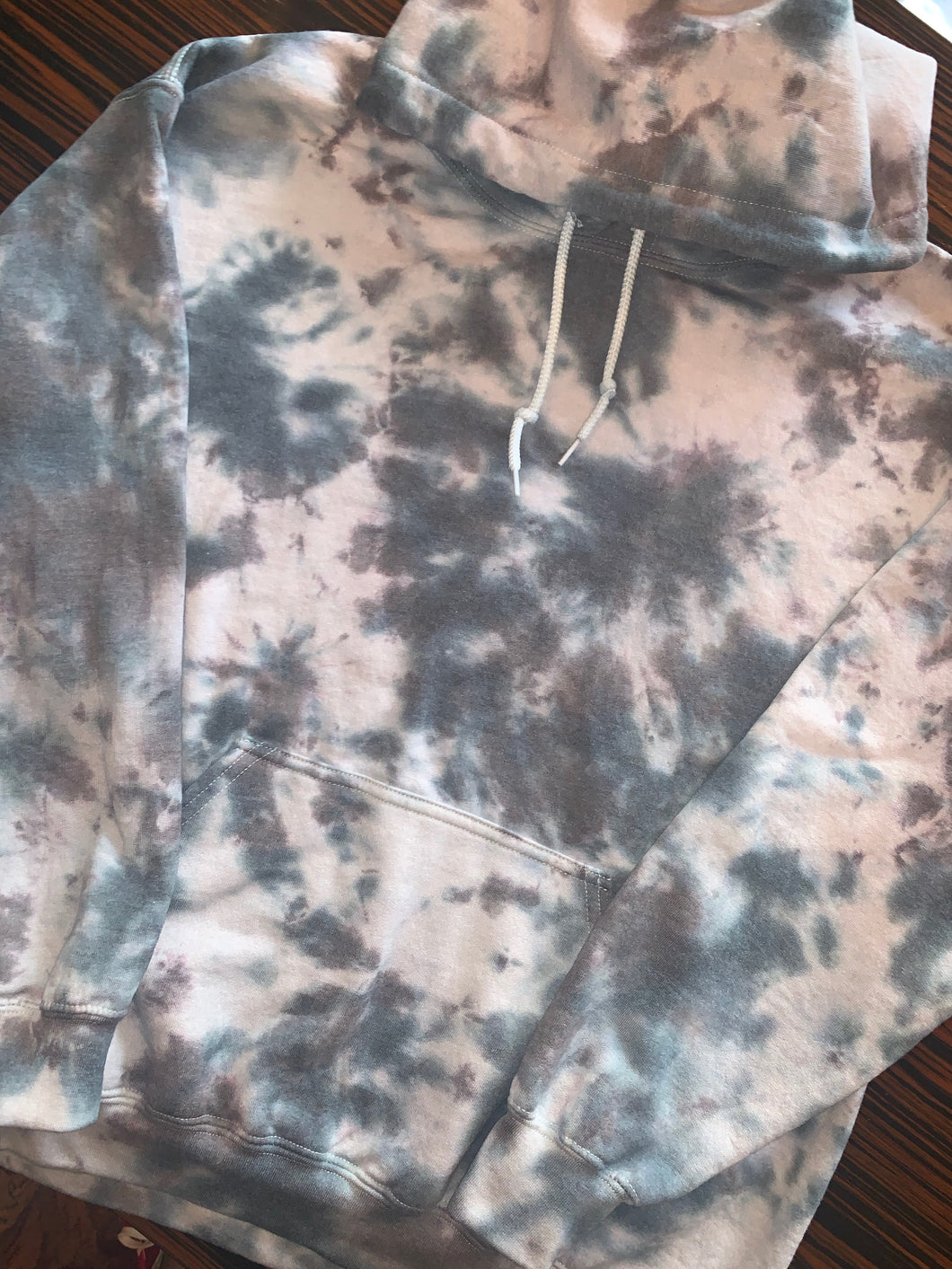 Men's EMBROIDERED Tie Dye Hoodie