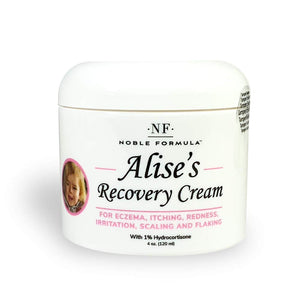 Noble Formula, Alise's Recovery Cream with 5% Ammonium Lactate, 1% Hydrocortisone.125% Pyrithione Zinc (ZnP), Moisturizing Cream, 4 oz