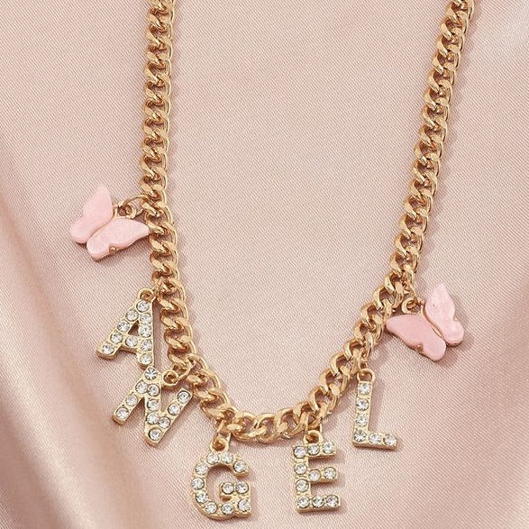 Charming Angel Necklace