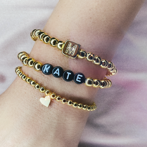 Personalized Bracelet Stack