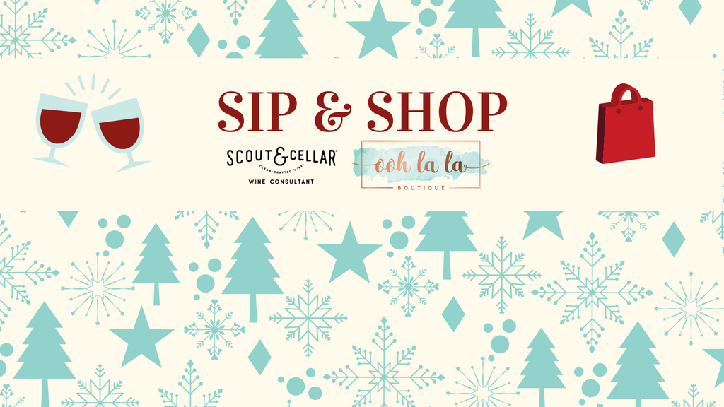 Sip & Shop After Hours Event