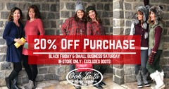 Black Friday small business saturday excelsior mn ooh la la