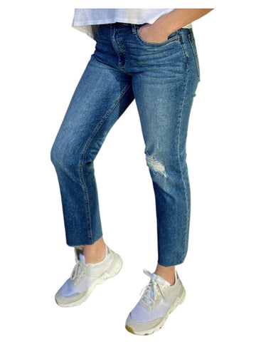 Rachel Mom Jeans by Kut in Noticeable