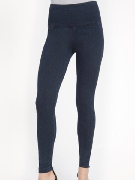Denim Leggings in Indigo