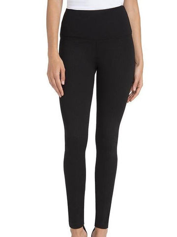 Ponte Center Seam Legging in Black