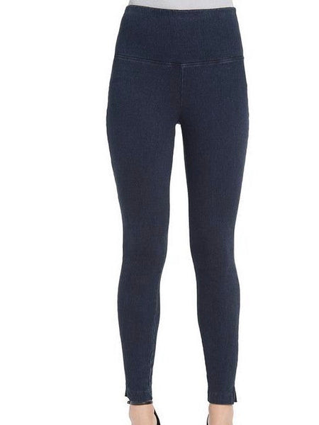 Denim Skinny Leggings in Indigo