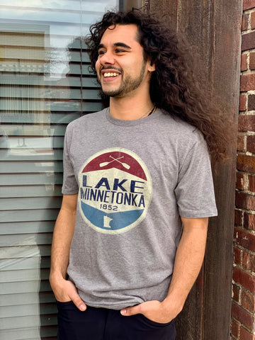 Lake Minnetonka Heathered T-shirt
