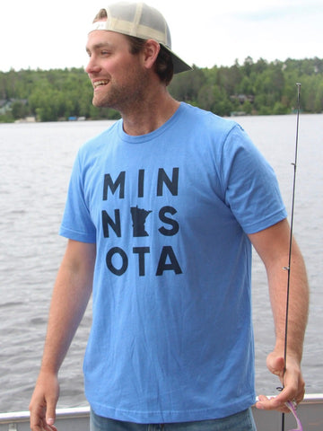 Minnesota Stacked Tee Unisex