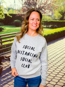 Social Distancing Social Club Sweatshirt