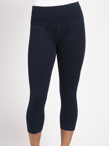 Denim Capri Leggings