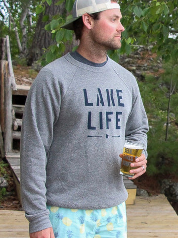 Lake Life Unisex Crew Neck Sweatshirt