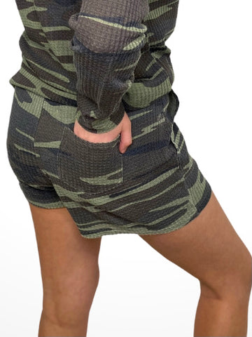 Janice Shorts in Camo or Black