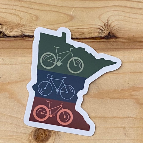 MN State Cycle Sticker Decal