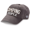 Camping People Hat Hats, OohLaLaBling- Ooh La La Free Shipping