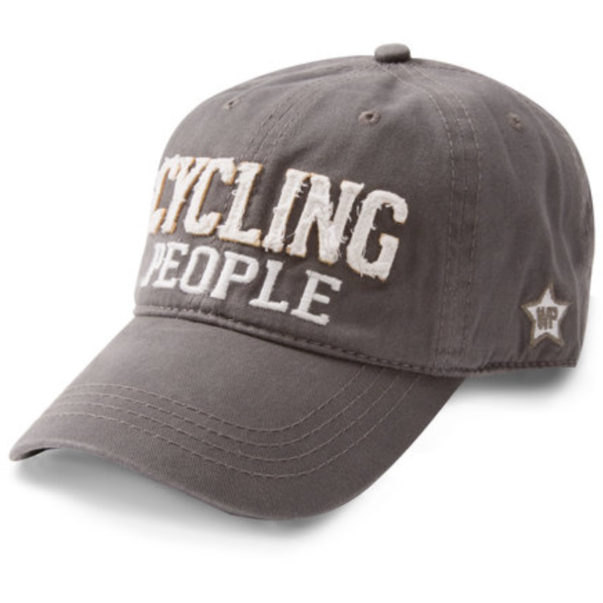 Cycling People Hat Hats, OohLaLaBling- Ooh La La Free Shipping