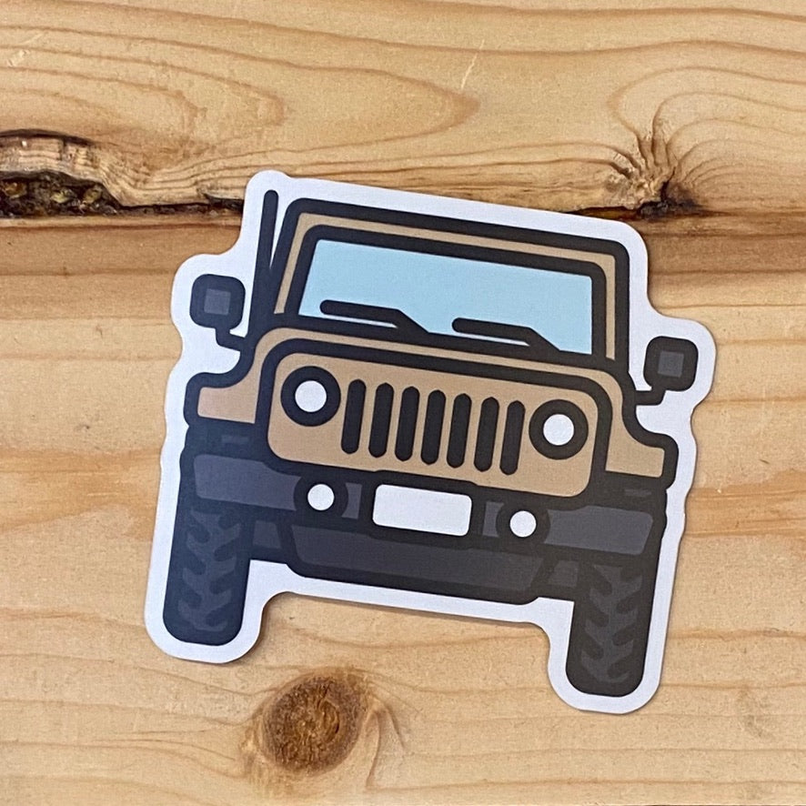 Jeep Vinyl Decal Sticker