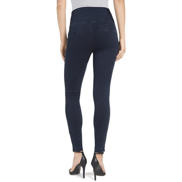 Denim Skinny Leggings in Indigo Pants, Lysse- Ooh La La Free Shipping