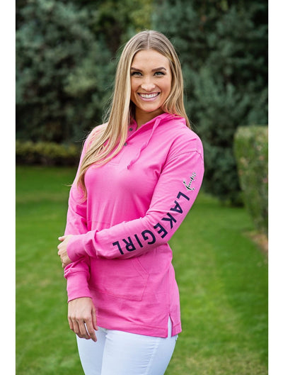 Lakegirl Long Sleeve Hooded Tee