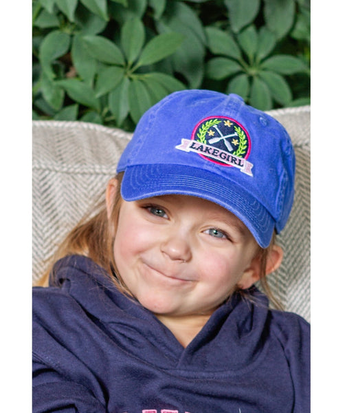 Lakegirl Youth Lily Patch Cap