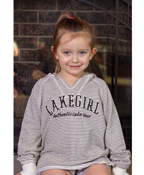 Lakegirl Youth Stripe Weekender Hoodie