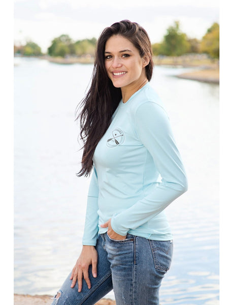 Lakegirl Long Sleeve Rash Guard